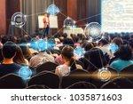 wireless communication... | Shutterstock . vector #1035871603