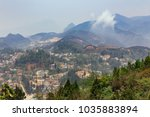 sa pa landscape with city ... | Shutterstock . vector #1035883894