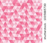 abstract pink geometric...   Shutterstock .eps vector #1035885730