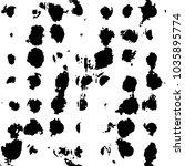 black and white grunge stripe... | Shutterstock .eps vector #1035895774