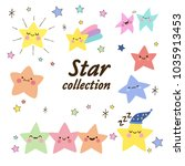 star icons collection | Shutterstock .eps vector #1035913453