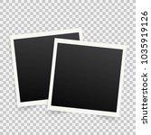 set of template photo frames... | Shutterstock .eps vector #1035919126