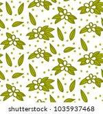 floral elements  pattern...   Shutterstock .eps vector #1035937468