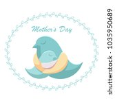 mother's day. mother's day.... | Shutterstock . vector #1035950689