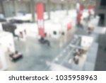 view of an art gallery....   Shutterstock . vector #1035958963