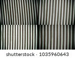 black and white closeup of... | Shutterstock . vector #1035960643