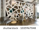 hotel lobby  lounge cafe   Shutterstock . vector #1035967048