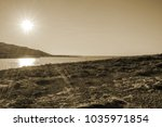 the seashore in malta just... | Shutterstock . vector #1035971854
