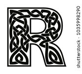 letter of the english alphabet... | Shutterstock .eps vector #1035998290