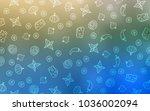 light blue  green vector...   Shutterstock .eps vector #1036002094