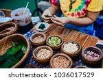 thai national food | Shutterstock . vector #1036017529