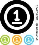 cash money coin   vector icon...   Shutterstock .eps vector #103603913