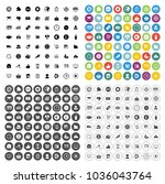 marketing icons set   web... | Shutterstock .eps vector #1036043764
