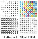 real estate icons set   house... | Shutterstock .eps vector #1036048003