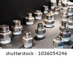 fittings and valve  pipes and... | Shutterstock . vector #1036054246