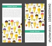 vector illustration with... | Shutterstock .eps vector #1036055440