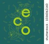 eco design   vector...   Shutterstock .eps vector #1036062160