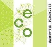 eco design   vector...   Shutterstock .eps vector #1036062163