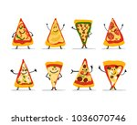 pizza slices character set ...