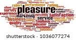 pleasure word cloud concept.... | Shutterstock .eps vector #1036077274