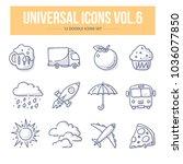 doodle vector universal generic ... | Shutterstock .eps vector #1036077850