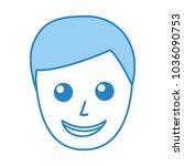 young man avatar character | Shutterstock .eps vector #1036090753