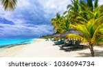 exotic tropical beaches of...   Shutterstock . vector #1036094734