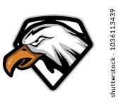 eagle head vector logo    Shutterstock .eps vector #1036113439