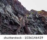 rocky cliff view | Shutterstock . vector #1036146439