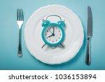 intermittent fastin concept  ... | Shutterstock . vector #1036153894