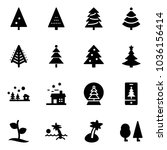 solid vector icon set  ... | Shutterstock .eps vector #1036156414