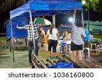 krabi  thailand   jan 28  2018  ... | Shutterstock . vector #1036160800