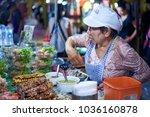 krabi  thailand   jan 28  2018  ... | Shutterstock . vector #1036160878