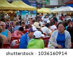 krabi  thailand   jan 28  2018  ... | Shutterstock . vector #1036160914