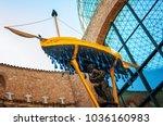 figueres  spain   august 5 ...   Shutterstock . vector #1036160983