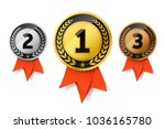 champions gold  silver and... | Shutterstock .eps vector #1036165780