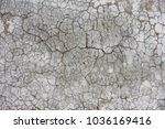 wet concrete texture with cracks | Shutterstock . vector #1036169416