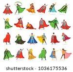 vector illustrations in flat... | Shutterstock .eps vector #1036175536