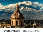 the dome of cathedral in...   Shutterstock . vector #1036178443