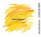 paint background  vector | Shutterstock .eps vector #1036187884