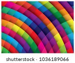 colorful vector design | Shutterstock .eps vector #1036189066