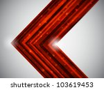 red business card. vector... | Shutterstock .eps vector #103619453