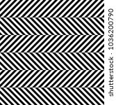 seamless pattern with striped... | Shutterstock .eps vector #1036200790