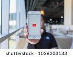 chiang mai  thailand   feb 22... | Shutterstock . vector #1036203133