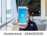 chiang mai  thailand   feb 22... | Shutterstock . vector #1036203520