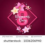 greeting card for international ... | Shutterstock .eps vector #1036206940