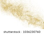 gold glitter texture isolated... | Shutterstock .eps vector #1036230760