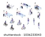 medical rehabilitation... | Shutterstock .eps vector #1036233043
