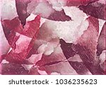 colorful gradient color... | Shutterstock . vector #1036235623