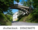 the devil's bridge on toome... | Shutterstock . vector #1036236070
